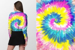 Neon Tie-Dye Vol. 4 Backgrounds Graphic Patterns By TheGypsyGoddess 6