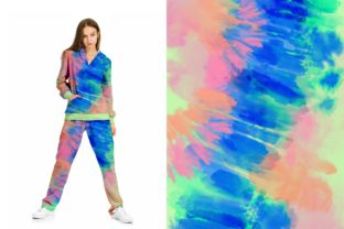 Neon Tie-Dye Vol. 4 Backgrounds Graphic Patterns By TheGypsyGoddess 8