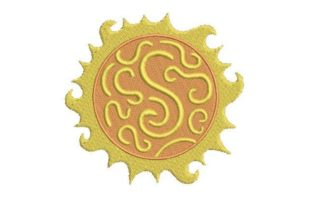 Sun Summer Embroidery Design By Embroidery Designs