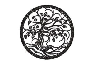 Tree of Life Forest & Trees Embroidery Design By Embroidery Designs