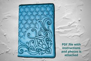 Cover for Plastic Cards Corners Accessories Embroidery Design By Beautiful Embroidery