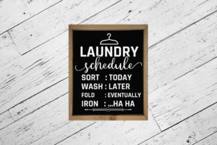 Laundry Room Sayings Bundle | 30 Designs Graphic Crafts By CraftlabSVG 8