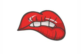 Lips Beauty Embroidery Design By NinoEmbroidery