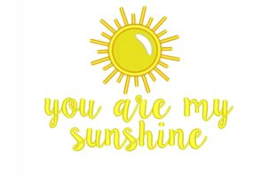 Sunshine Summer Embroidery Design By SonyaEmbroideryStore