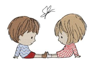 Print on Demand: Baby Love Boys & Girls Embroidery Design By ArtEMByNatali 1