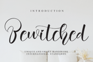 Print on Demand: Bewitched Script & Handwritten Font By Creativewhitee