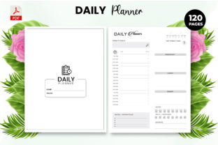 Print on Demand: Daily Planner - KDP Interior Graphic KDP Interiors By Design invention