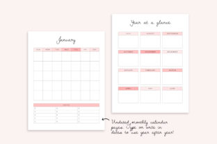 Editable Homeschool Planner   40+ Pages Graphic K By DesignStudioTeti 4
