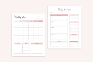 Editable Homeschool Planner   40+ Pages Graphic K By DesignStudioTeti 5