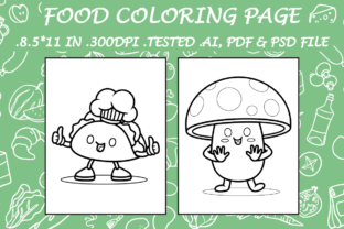 Food Coloring Page 14 - Kdp Interiors Graphic Coloring Pages & Books Kids By Kdp Speed