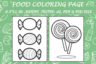 Food Coloring Page 3 - Kdp Interiors Graphic Coloring Pages & Books Kids By Kdp Speed
