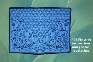 Passport Cover Accessories Embroidery Design By Beautiful Embroidery