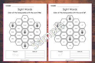 100 Printable Fry Sight Words Worksheets Graphic K By WorksheetsWithFun 2