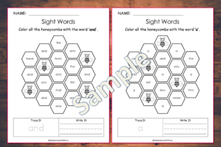 100 Printable Fry Sight Words Worksheets Graphic K By WorksheetsWithFun 3