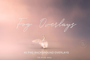 Print on Demand: Fog Overlays, Overlays Fog for Photoshop Graphic Layer Styles By The Rose Mind