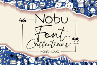Print on Demand: Nobu Collections Script & Handwritten Font By Nobu Collections
