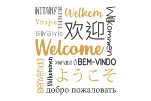 Welcome Subway Art Subway Art Craft Cut File By Creative Fabrica Crafts 1