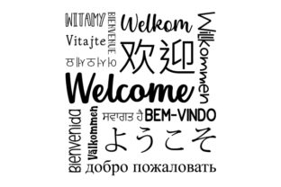 Welcome Subway Art Subway Art Craft Cut File By Creative Fabrica Crafts 2