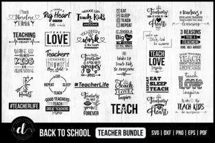 Back to School for Teachers SVG Bundle Graphic Crafts By CraftlabSVG