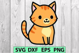 Cat Stcker Cute Svg Graphic Crafts By magicCreative