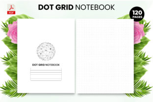 Print on Demand: Dot Grid Notebook - KDP Interior Graphic KDP Interiors By Design invention