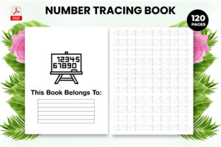 Print on Demand: Number Tracing Book for Kids - Interior Graphic KDP Interiors By Design invention