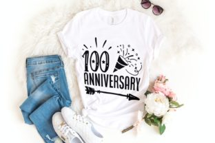100 Anniversary Svg | 100 Days of School Graphic Illustrations By VectorEnvy