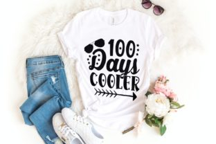 100 Days Cooler Svg | 100 Days School Graphic Illustrations By VectorEnvy