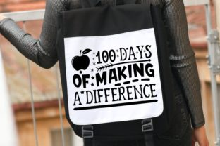 100 Days of Making a Difference Svg Graphic Illustrations By VectorEnvy