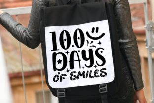 100 Days of Smiles | School Svg Graphic Illustrations By VectorEnvy