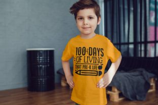100 Days of That Pre-k Life | School Svg Graphic Illustrations By VectorEnvy