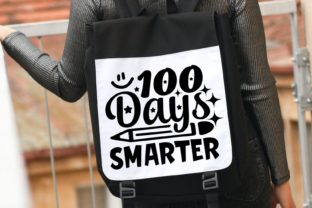 100 Days Smarter Svg | 100 Days | School Graphic Illustrations By VectorEnvy