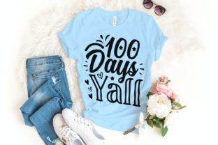100 Days Yall Svg | 100 Days | School Graphic Illustrations By VectorEnvy