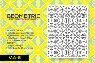 Print on Demand: Adult Kdp Coloring Pattern Pages Graphic Coloring Pages & Books Adults By nur_vector