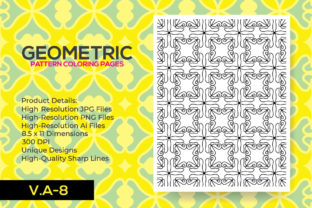 Print on Demand: Coloring Pattern Pages KDP Interior Graphic Coloring Pages & Books Adults By nur_vector