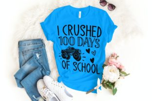 I Crushed 100 Days of School Svg Graphic Illustrations By VectorEnvy