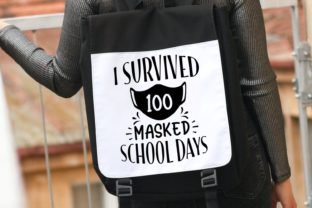 I Survived 100 Masked School Days Svg Graphic Illustrations By VectorEnvy