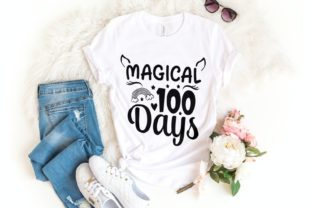 Magical 100 Days Svg | 100 Days | School Graphic Illustrations By VectorEnvy