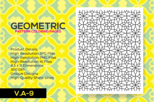 Print on Demand: Pattern Coloring Pages KDP Interior Graphic Coloring Pages & Books Adults By nur_vector