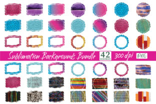 Sublimation Backgrounds Bundle PNG Graphic Crafts By CraftlabSVG