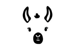 Floating Llama Face Animals Craft Cut File By Creative Fabrica Crafts 2