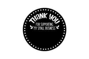 Thank You for Supporting My Small Business Sticker Designs & Drawings Craft Cut File By Creative Fabrica Crafts 2