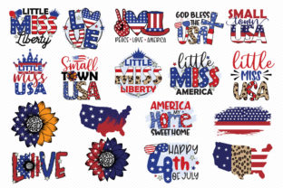 4th of July Sublimation Bundle Graphic Crafts By CraftlabSVG 2