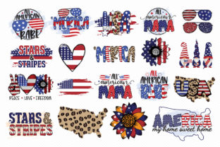 4th of July Sublimation Bundle Graphic Crafts By CraftlabSVG 3