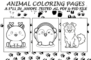 Animals Coloring Pages 12 - Kdp Interior Graphic Coloring Pages & Books Kids By Kdp Speed
