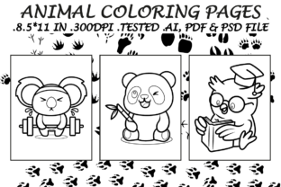 Animals Coloring Pages 4 - Kdp Interiors Graphic Coloring Pages & Books Kids By Kdp Speed