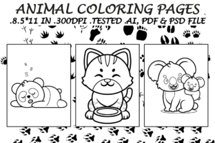 Animals Coloring Pages 9 - Kdp Interiors Graphic Coloring Pages & Books Kids By Kdp Speed