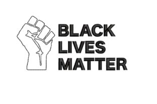 Black Lives Matter Awareness Embroidery Design By NinoEmbroidery