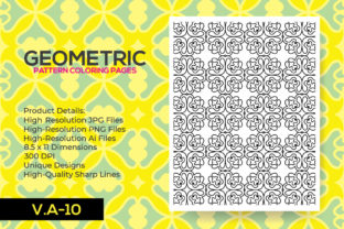 Print on Demand: Coloring Pattern Pages - Coloring Book Graphic Coloring Pages & Books Adults By nur_vector