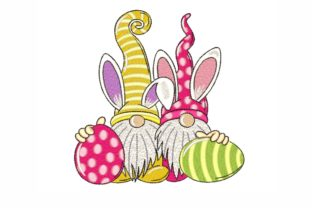 Easter Gnomes Easter Embroidery Design By SonyaEmbroideryStore